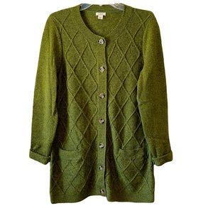 L.L. Bean Long Sweater Cardigan